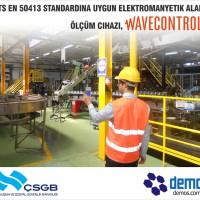 İş sağlığı ve güvenliği için elektromanyetik radyasyon ölçümü
